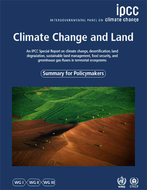 What the new IPCC report says about climate change and land