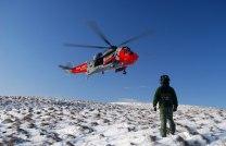 Royal_Navy_SAR_Helicopter_on_Big_Torry_Hill,_Ochils_-_geograph.org.uk_-_1660779
