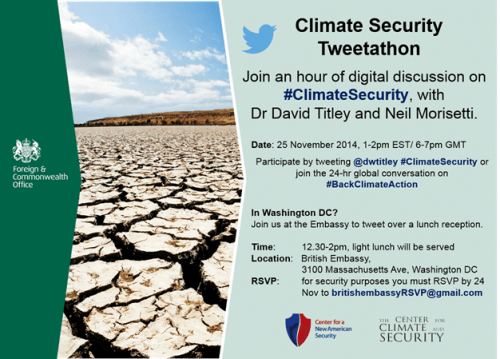 ClimateSecurity Tweetathon