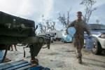 U.S. Marines aid Saipan with typhoon relief efforts