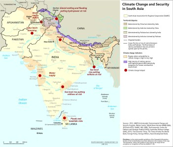 south asia context map final