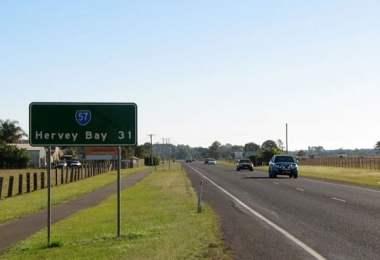 fraser coast road sign