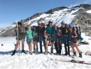 Taku Glacier Expedition 2017 Group