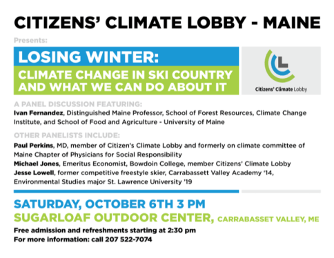 Citizens' Climate Lobby Flyer