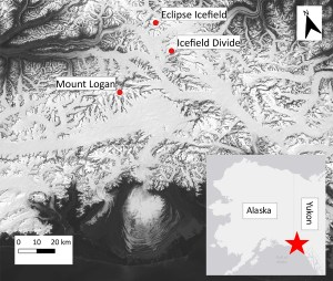 St. Elias field map.
