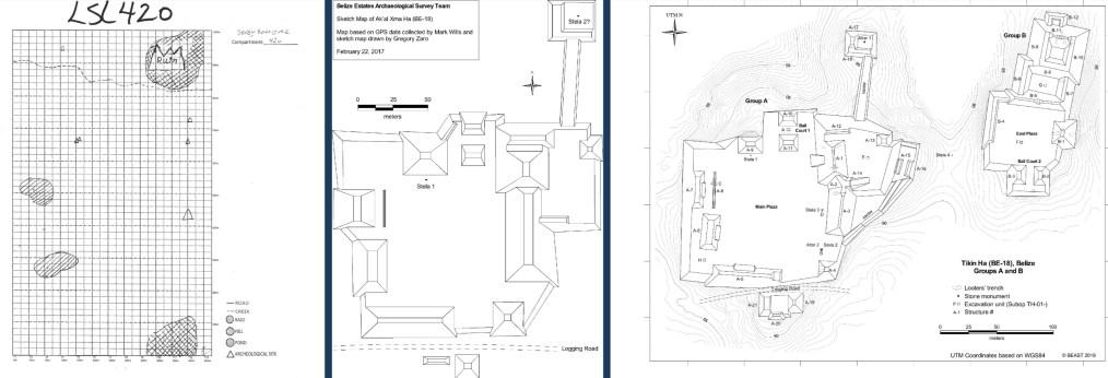 Mapping Tikin Ha.