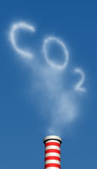 CO2 Emissions smokestack