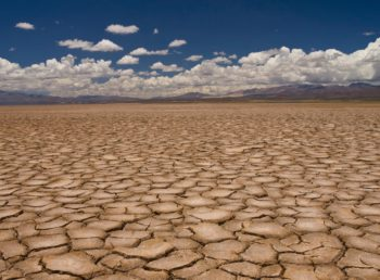 drought cracked earth