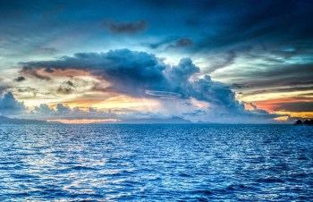 tropical pacific ocean