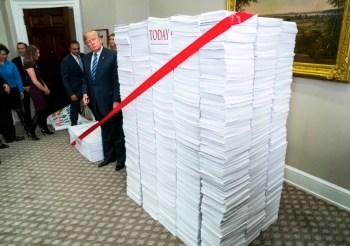 trump cutting regulations