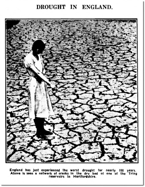 drought in england 1934