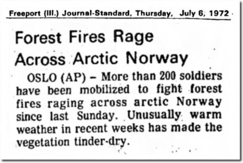 july 1972 fires arctic