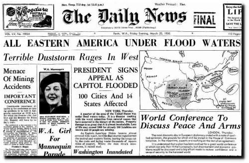 mar 20 1936 eastern america flooded