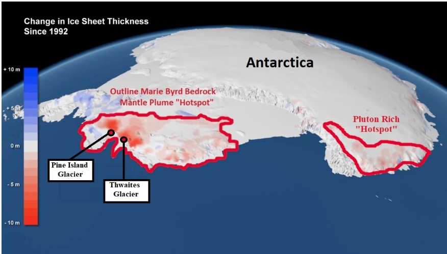 Geological 'Hotspot' Melting Pine Island,Thwaites Glaciers, Not Global  Warming | Principia Scientific Intl.