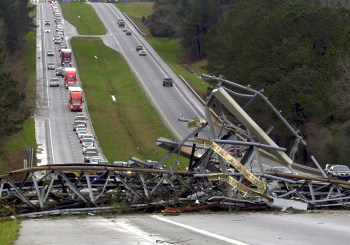 alabama tornado highway damage