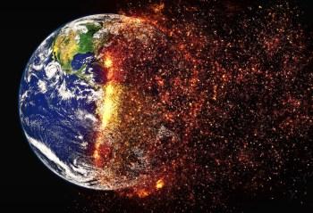 earth heat burn hot