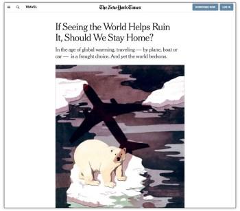nytimes climate travel killer