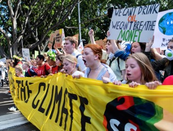 climate strike australia