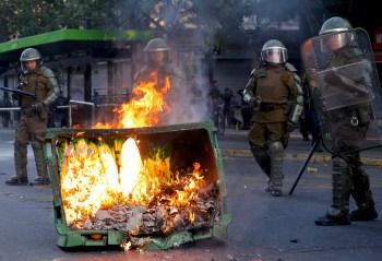 Chile riots