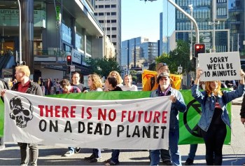 extinction rebellion australia
