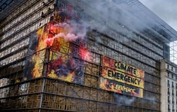 greenpeace europa flares fires