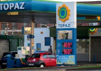 ireland gas station