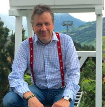 Swiss meteorologist Jörg Kachelmann. Photo: Weather.Us