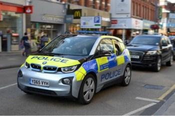 uk electric police car