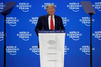 Trump Rejects Eco 'Prophets Of Doom' In Davos Speech