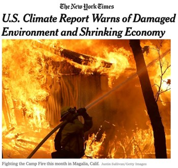 nytimes climate report