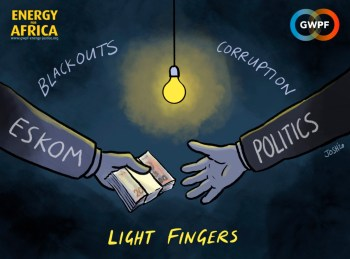 cartoon eskom corruption