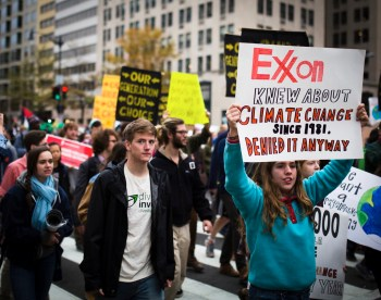 exxonknew protest