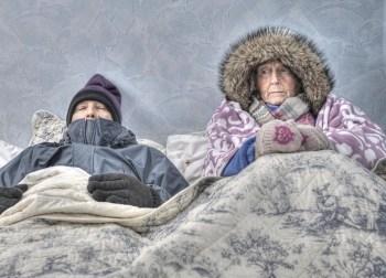 elderly cold seniors