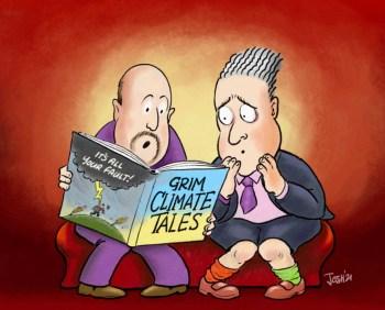 cartoon climate alarm