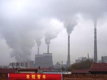 china coal pollution