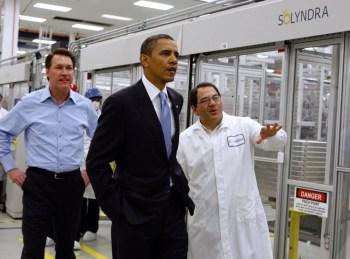 solyndra obama visit
