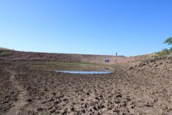 mexico drought dry lake
