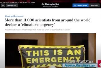 11000 scientists headline