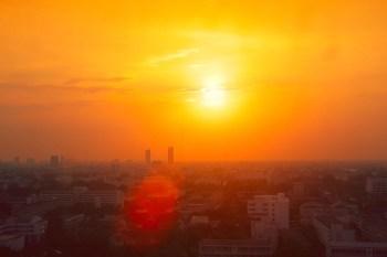 heat hot city sun