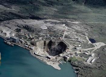 mining greenland