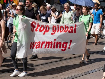 protest stop global warming