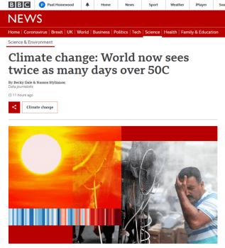 BBC heated headline