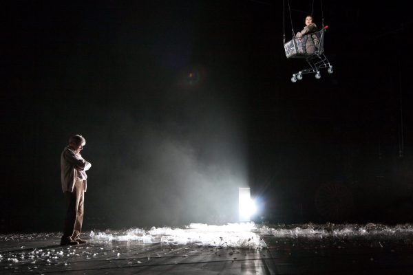 Greenland, directed by Bijan Sheibani production images for the National Theatre, Jan 2011. Photograph: Helen Warner