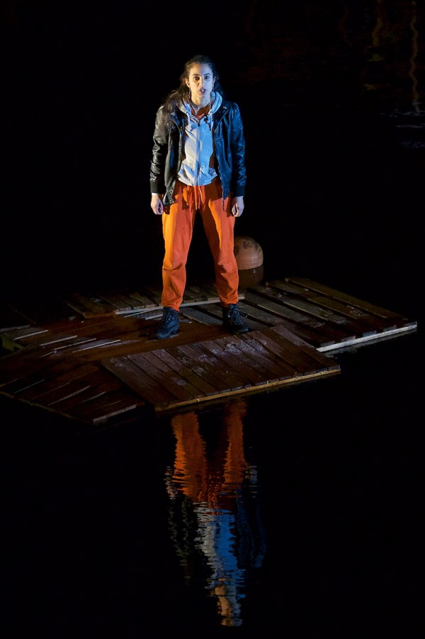 'FLOOD' Omnibus opening night. Photograph by James Phillips