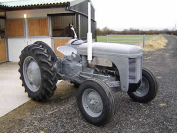 Massey Ferguson TE20 tractor Photograph: BJ Tractors
