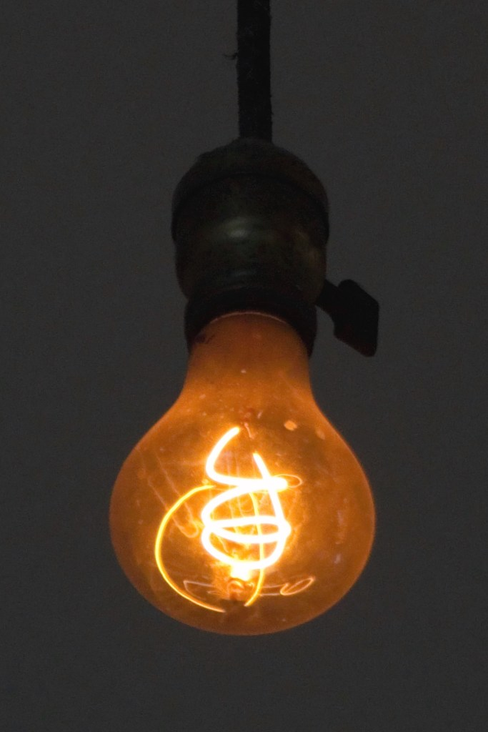 The Livermore Centennial light bulb