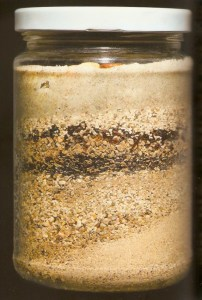 Anthropocene in a jar