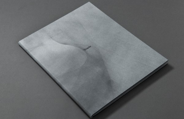 Image shows cover design of Trinity, a book by Oliver Raymond-Barker. Design by Loose Joints.