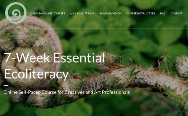 Haumea Online 7-week Essential Ecoliteracy