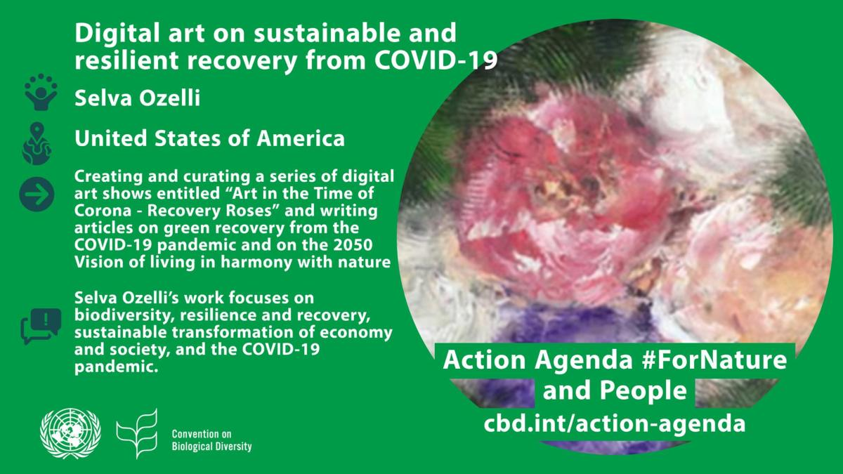 Poster fro SElva Ozelli at London Climate Action Week